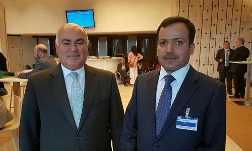 الممثل الدائم في جنيف يلتقي بالسيد رئيس برلمان اقليم كردستان