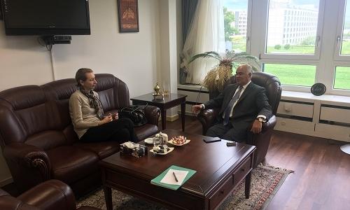 لقاء السيد المندوب الدائم مع منسق منظمة التعاون الاسلامي