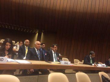 انتخاب العراق نائباً لرئيس المؤتمر العاشر للبروتوكول الخامس لاتفاقية حظر او تقييد استعمال اسلحة تقليدية معينة يمكن اعتبارها مفرطة الضرر او عشوائية الاثر