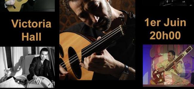 امسية عزف عود عراقية مع الفنان نصير شمة في جنيف